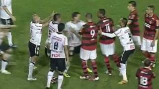 Discussão de Emerson e Renato Abreu - Corinthians x Flamengo 08/09/2011