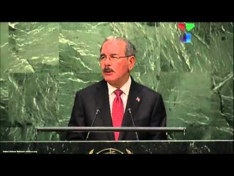 UN Speeches: President Danilo Medina of The Dominican Republic