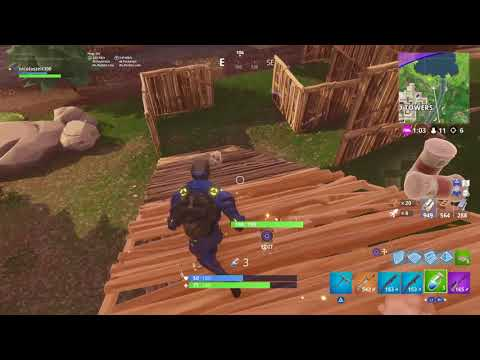 Fortnite: First Game Of New Patch V4.4 Solo Win 10 Kills