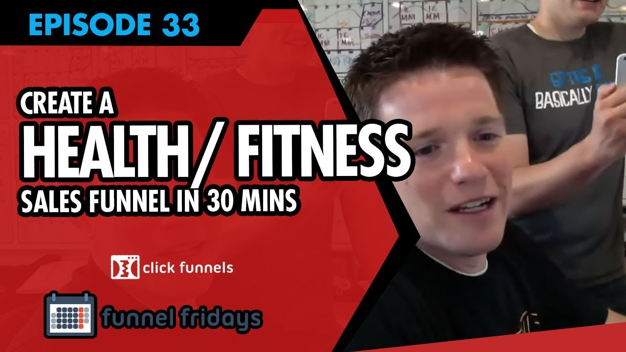 How To Create A Sales Funnel In 30 Minutes -  Health/Fitness Sales Funnel Examples