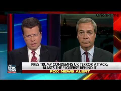 """Nigel Farage: """"What we want is the British government to start tackling Radicalization"""""""