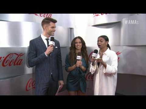 Taraji P. Henson Red Carpet Interview - AMAs 2016