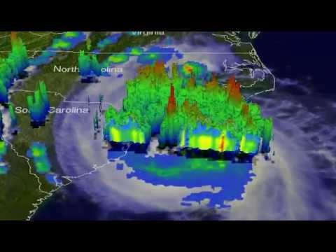 NASA Sees Hurricane Arthur's Fireworks