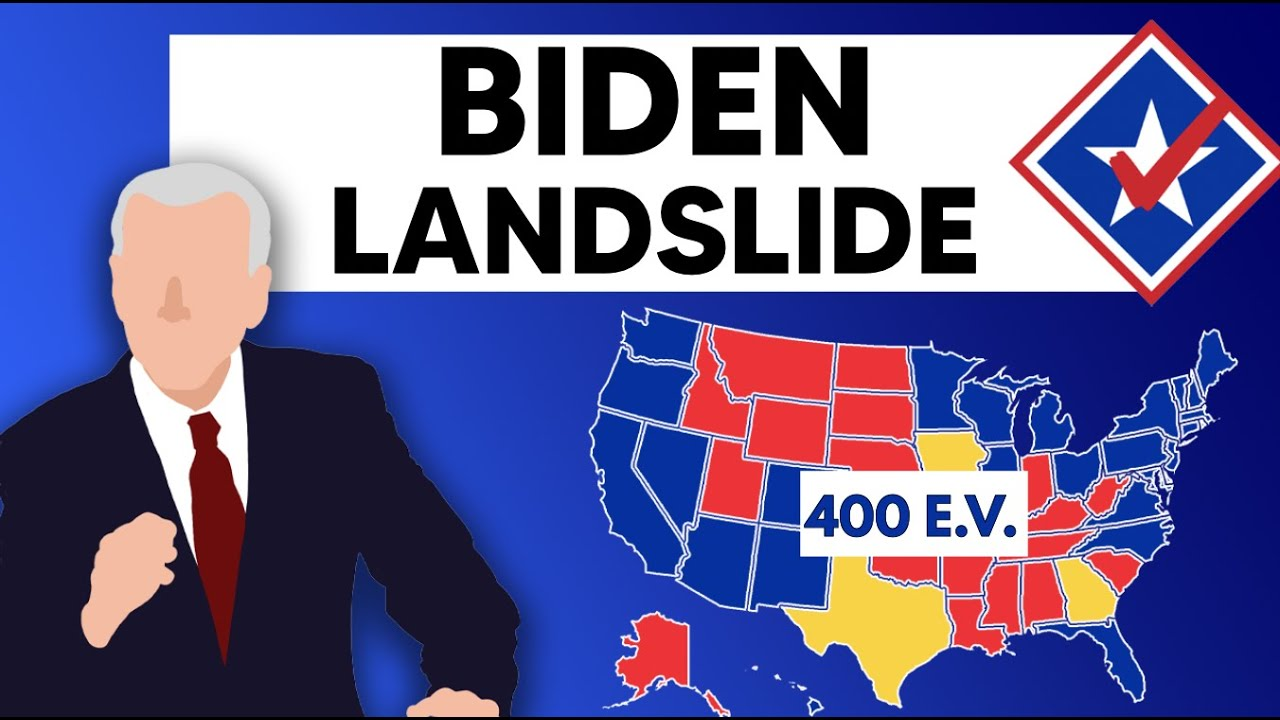 Joe Biden Is in Striking Distance of a 400 Electoral Vote Victory