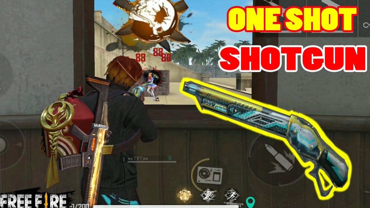 Cách KÉO TÂM ONE SHOT Súng Shotgun Trên Mobile Cực Dễ | Free Fire