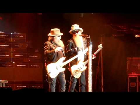 ZZ Top Live in Buffalo, New York 2018 at Erie County Fairgrounds