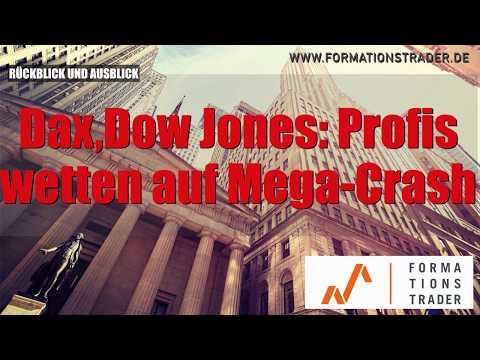 Dax, Dow Jones: Profis wetten auf Mega-Crash