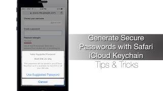 How to Generate Secure Passwords using Safari iCloud Keychain - iPhone Hacks