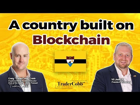 Liberland - A Country Built On Blockchain - Vit Jedlicka Interview (2018)