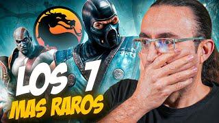 💎 LOS JUEGOS MÁS EXTRAÑOS DE LA SAGA MORTAL KOMBAT esperando a Mortal Kombat 11