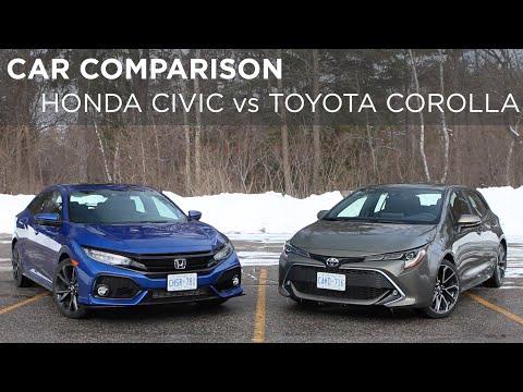 Car Comparison   Honda Civic vs Toyota Corolla   Driving.ca