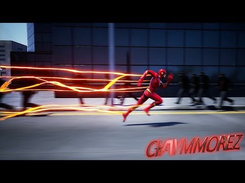 The Flash w/ lots of SLOW MO! Welcome to Central City (Crisis On Earth One Gameplay)