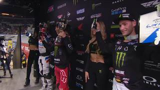 250SX Main Event Highlights - Indianapolis
