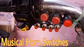 Musical Horn Switches for Motorcycles || Amazing Idea!
