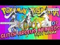 ¡GLITCH ARCEUS INFINITOS DE LA ZONA MISTERIOSA 100% EFICAZ! (Diamante y Perla) [Pokémon Hispania]