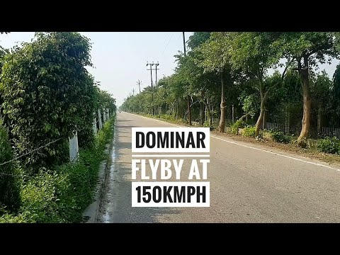 Dominar 400 Flyby Video At 150kmph|Exhaust Sound