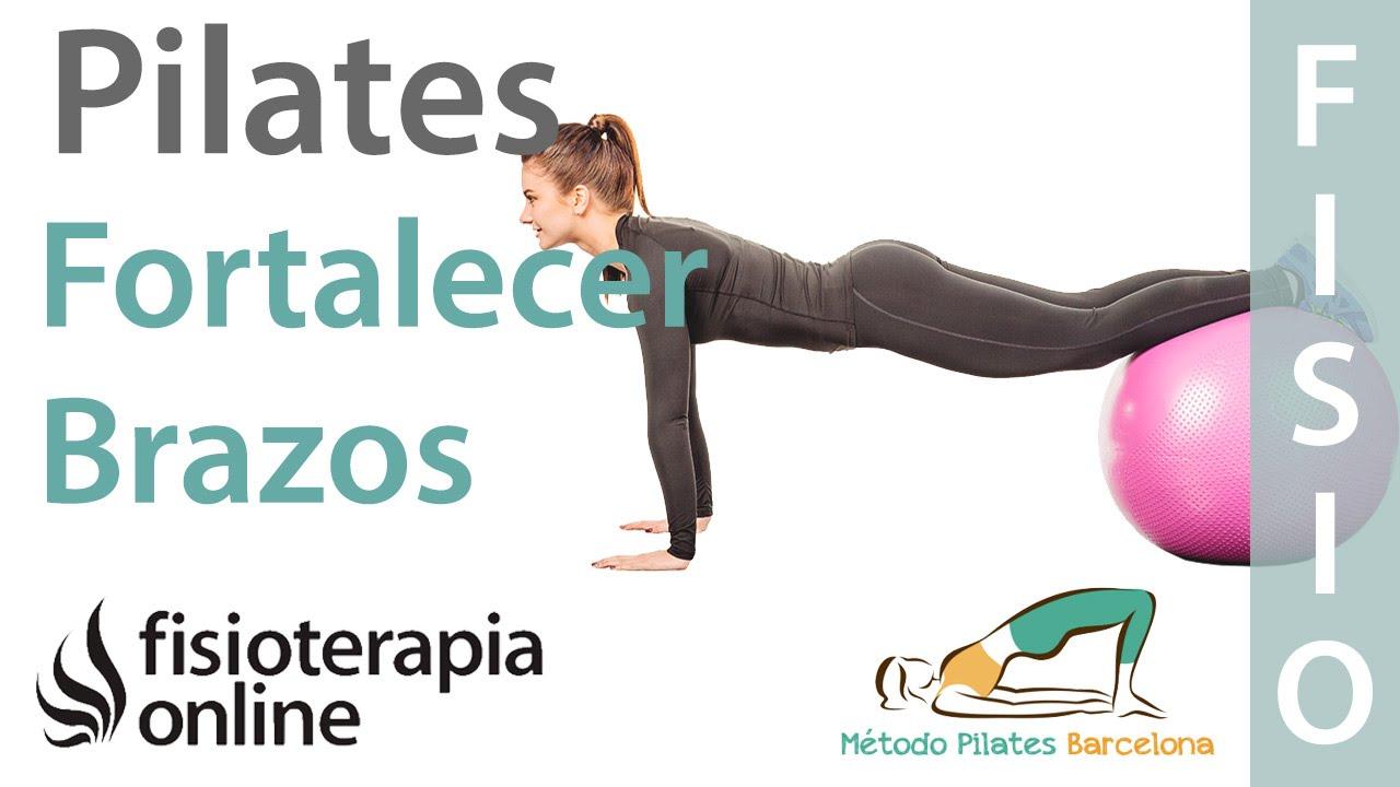 ejercicios de pilates para adelgazar brazos