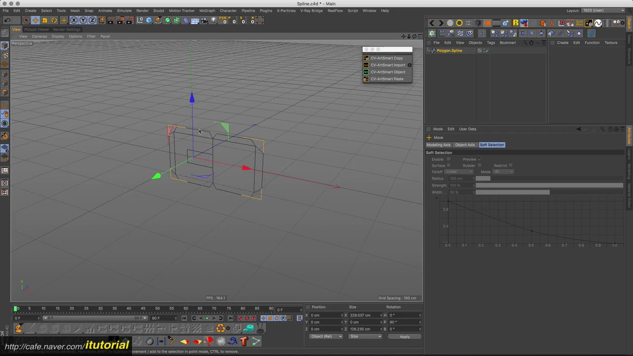 c4d - cv artsmart copy to ai
