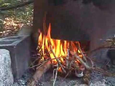 StillPE's wood fired water heater