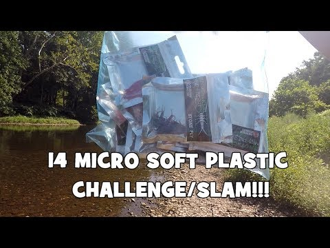 14 MICRO LURES SLAM!!! Fishing with EUROTACKLE's PLASTICS (Give-Away Included) (Langhorne, PA)