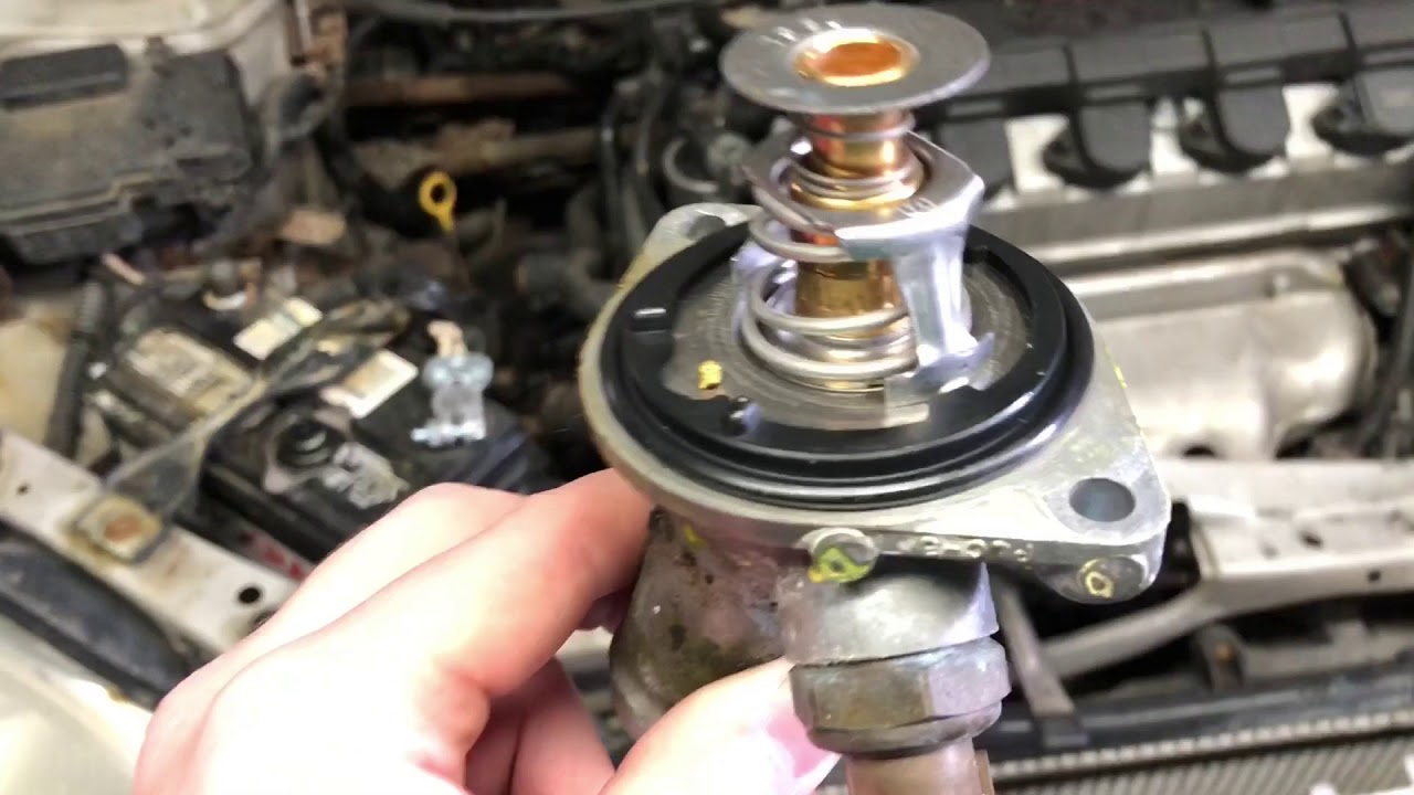 2002 honda civic thermostat replacement