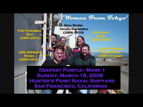 """4 of 5: """"Woman From Tokyo"""" -- Deepest Purple SF, Mk 1 demo recordings-- Mar 19, 2006"""