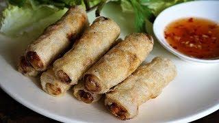 Nems au Poulet Croustillants - Faciles et rapides à faire - Recette de Cooking With Morgane