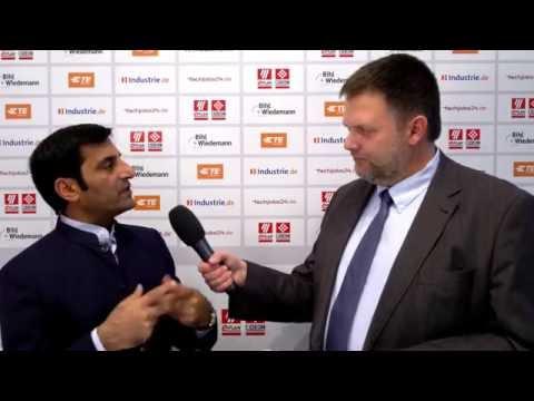 SPS IPC Drives 2016: National Instruments, Rahman Jamal