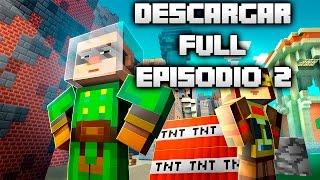 Como Descargar E Instalar Minecraft Story Mode Episodio 2 Completo  En Español