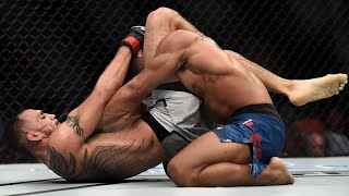 Biggest Triangle Choke Finishes in UFC History