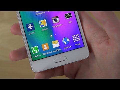 Samsung Galaxy A5 Home Button Warning! (4K) - YouTube