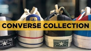 My Converse Sneaker Collection (July 2018)