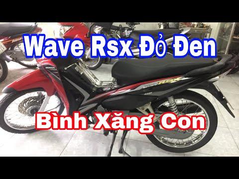 Bán Xe Honda Wave RSX Đỏ Đen Bình Xăng Con - Chuyên Xe Cũ Tiền Giang