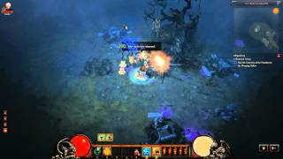 Diablo 3 Beta: The weeping hollow hunging tree