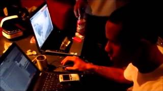 LEX LUGER KOOLIN IN THE STUDIO MAKING Soulja Boy   Im Boomin BEAT !