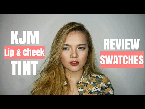 KJM Cheek and Lip Tint | REVIEW & SWATCHES