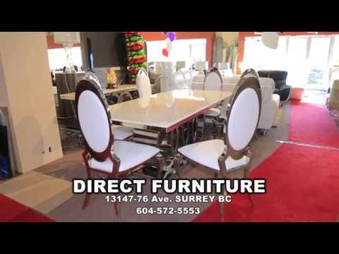 Dinning Tables Deals | Direct Furniture | Surrey | Canada