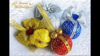 видео Дизайн новогодней елки