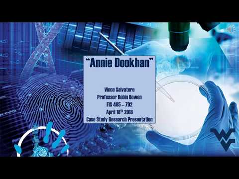 FIS 485 Annie Dookhan Case Study Research Presentation