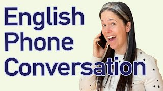 PHONE ENGLISH | Speak English EASILY On The Phone!
