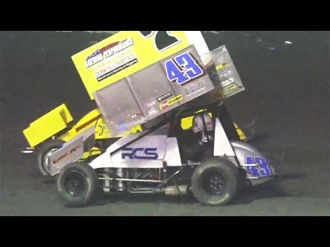 360 Sprints  MAIN EVENT  6-8-19 Petaluma Speedway