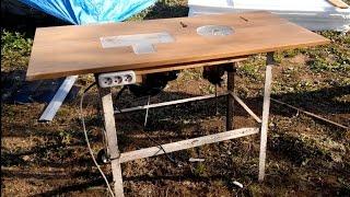 Простейший циркулярно-фрезерный стол своими руками.