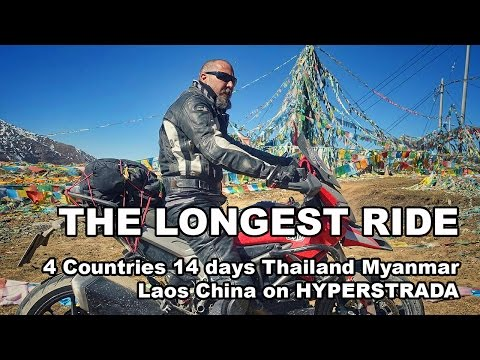 The Longest RIDE: Bangkok to Shangri La in China by Motorcycle [480] 🏍