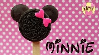 Gambar cover MINNIE MOUSE oreo pops - Cute disney mickey or minnie cookie pops how to baking