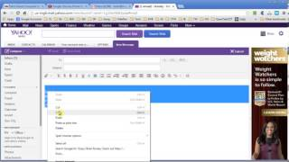 Signature Settings in Yahoo Mail