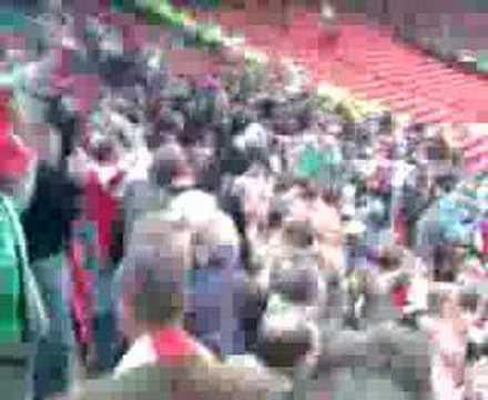 Arsenal Fans At Old trafford