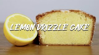 Lemon Drizzle Cake Recipe  The Best Homemade Lemon Sponge