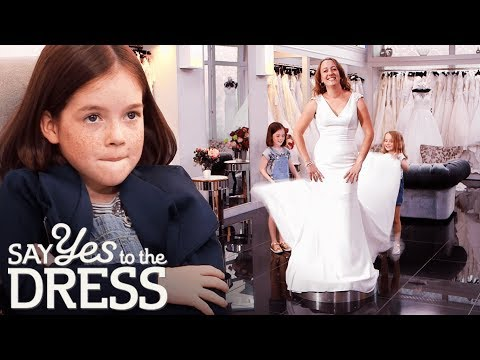 Bride Brings Two Little Helpers with Her to the Consultation | Say Yes To The Dress UK