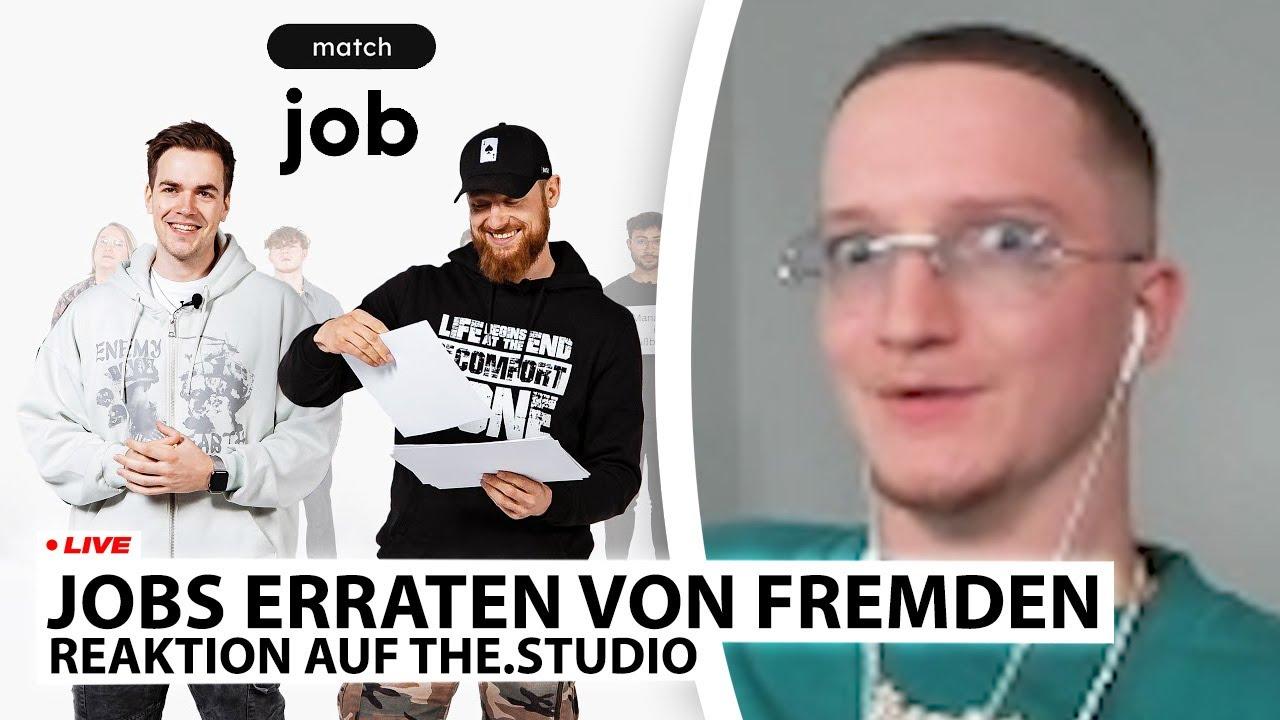 """Justin reagiert auf """"Welcher Job gehört zu wem?"""" 🤔   Live - Reaktion"""