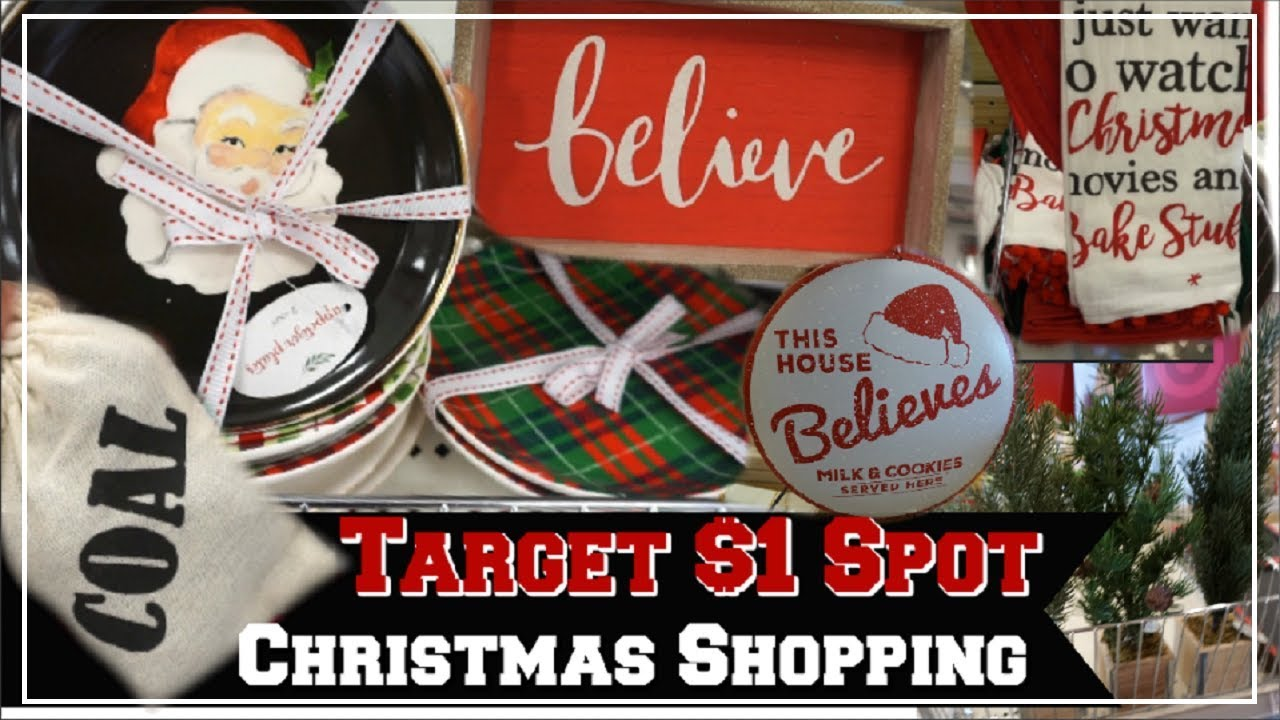 target targetdollarspot christmasdecor - How Late Is Target Open On Christmas Eve